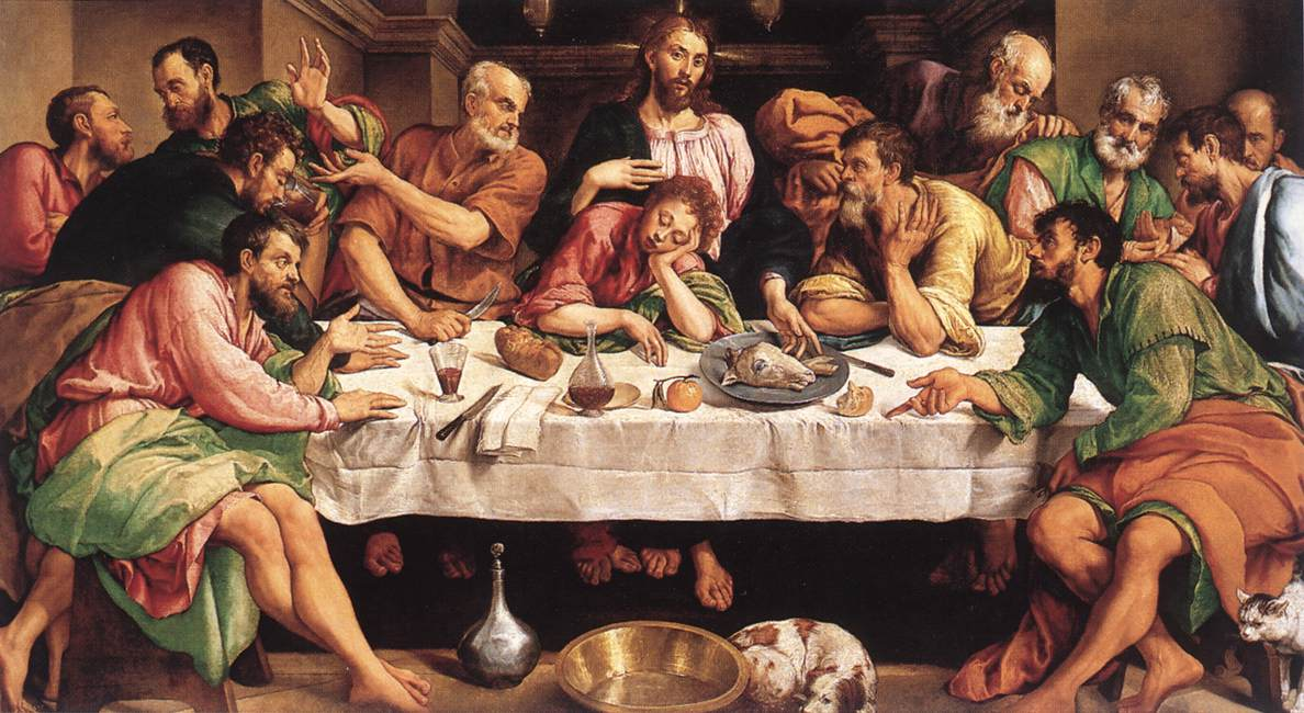 Jacopo_Bassano_Last_Supper_1542
